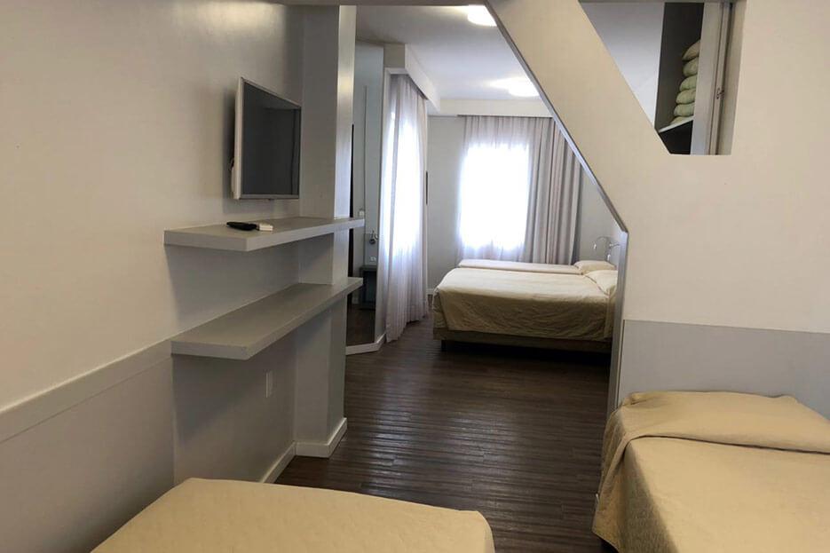 Foto Habitación Quíntuple Tropikalya Prime Hotel