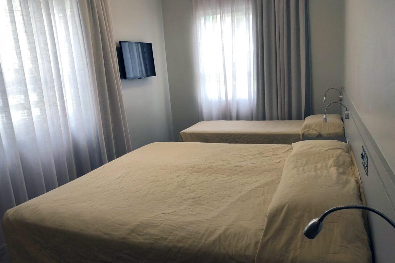 Foto Cama Habitación Quíntuple Tropikalya Prime Hotel