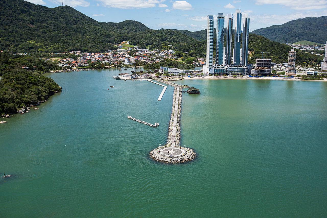Muelle de la Barra Sul Balneário Camboriú