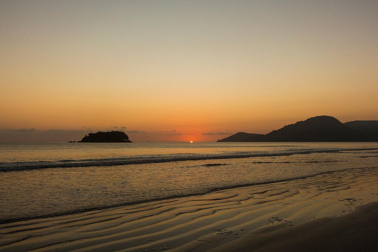 Playa Central y Isla de las Cabras Balneário Camboriú