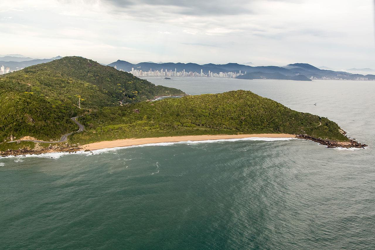 Playa de las Taquarinhas Balneário Camboriú