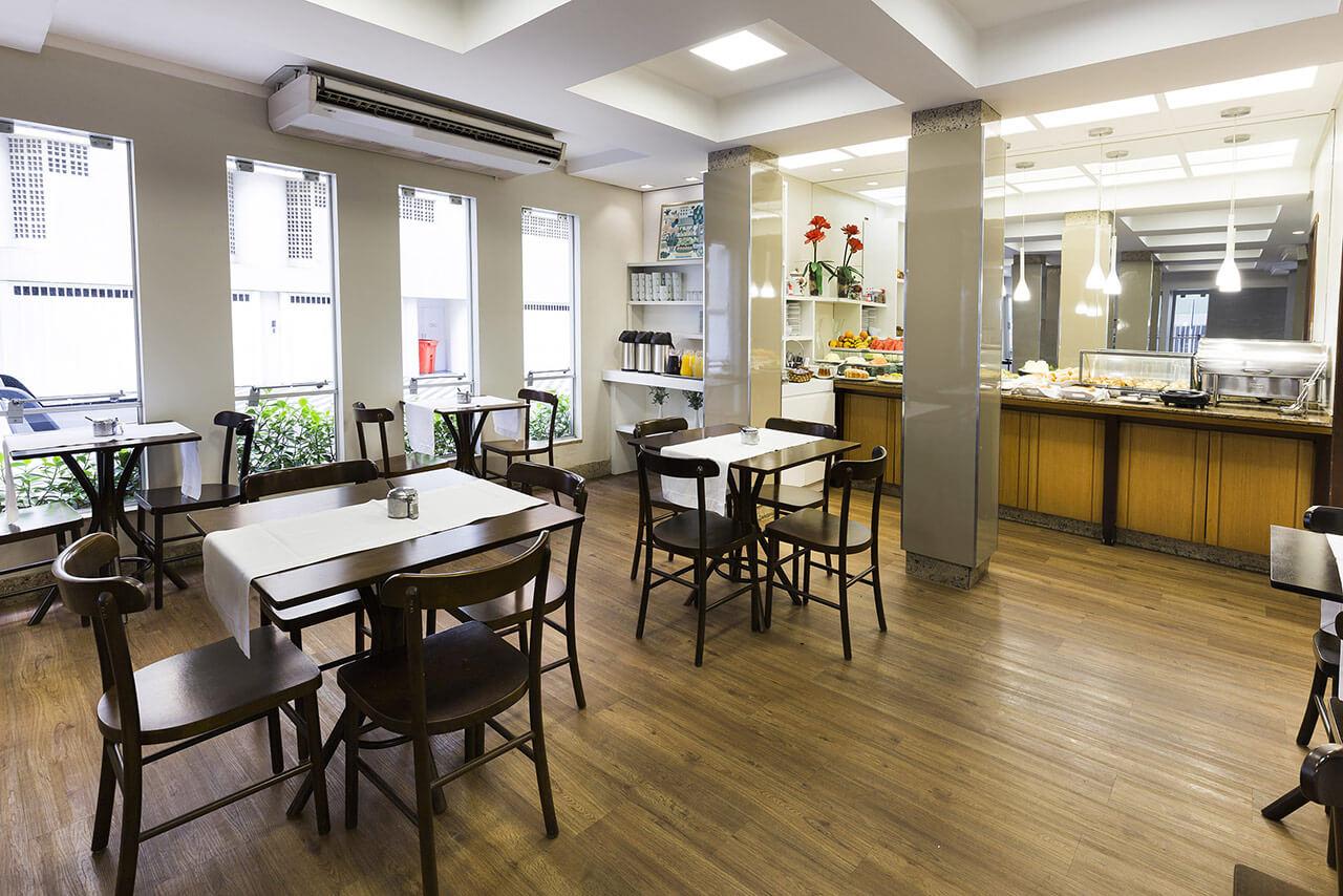 Foto Salão Café da Manhã Tropikalya Prime Hotel
